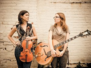 Jessica Pavone and Mary Halvorson